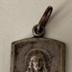 Antigüedades: ANTIGUA ( MEDALLA S. CORAZÓN ). MÁS MEDALLAS ANTIGUAS EN MI PERFIL.. Lote 195466981