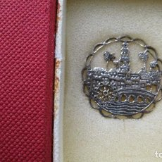 Antigüedades: INSIGNIA DE PLATA DE LEY CORDOBA EN FILIGRANA. Lote 195468141