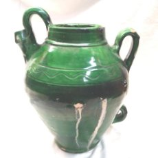 Antigüedades: DOLL DE CADAQUES, TERRACOTA BARRO VIDRIADO. MED. 32 CM. Lote 195468742