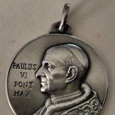 Antigüedades: ANTIGUA ( MEDALLA PAPA PAULUS VI ). MÁS MEDALLAS ANTIGUAS EN MI PERFIL.. Lote 195473767