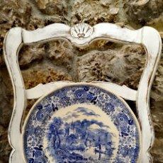 Antigüedades: GRAN PLATO VILLEROY & BOCH. Lote 195477322