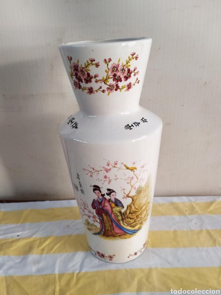 IMPORTANTE JARRÓN PORCELANA CON VARIOS SELLOS (Antigüedades - Porcelana y Cerámica - Japón)
