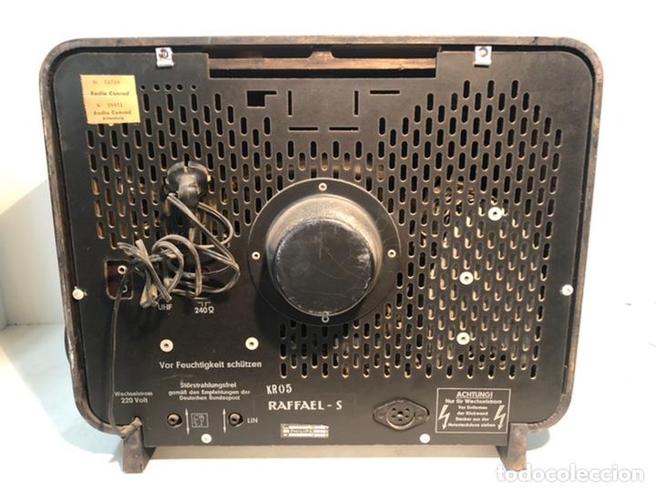 Antigüedades: TELEVISION ANTIGUA PHILIPS 7 TD 210 A-08, AÑO 1958. - Foto 7 - 195485963