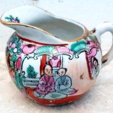 Antigüedades: JARRA DE PORCELANA CHINA DE MACAO.. Lote 195496275