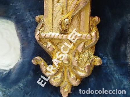 Antigüedades: ANTIGUA CRUZ DE CRISTO DE BRONCE CON SU PICA PARA EL AGUA TAMBIEN DE BRONCE -VER FOTOS- - Foto 6 - 195498301