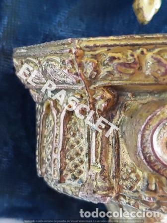 Antigüedades: ANTIGUA CRUZ DE CRISTO DE BRONCE CON SU PICA PARA EL AGUA TAMBIEN DE BRONCE -VER FOTOS- - Foto 12 - 195498301