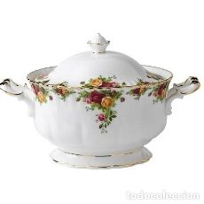 Antigüedades: SOPERA ROYAL ALBERT OLD COUNTRY ROSE. Lote 195509330