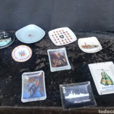 Antigüedades: 11 PLATOS PEQUEÑO COLECCIONABLES VARIOS. Lote 195515973