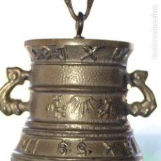 Antigüedades: PRECIOSA CAMPANA DE BRONCE. Lote 195518786