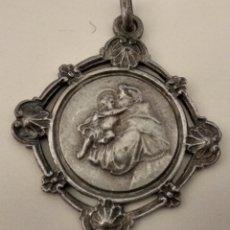 Antigüedades: ANTIGUA ( MEDALLA SAN ANTONIO ). MÁS MEDALLAS ANTIGUAS EN MI PERFIL.. Lote 195530585