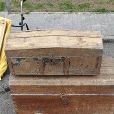 Antigüedades: DOS VAULES DE MADERA A TIGUOS. Lote 195539481