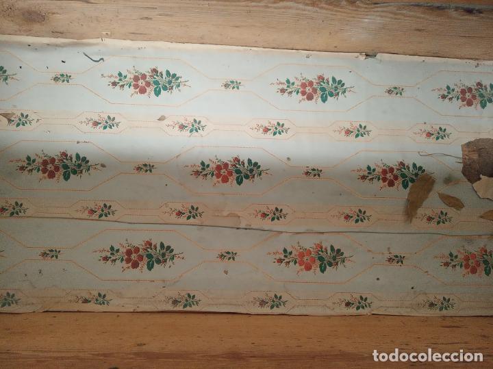 Antigüedades: Gran arca forrada en piel de jabalí al natural. Siglo XVIII. Herrajes y cerraduras originales. - Foto 5 - 195565366