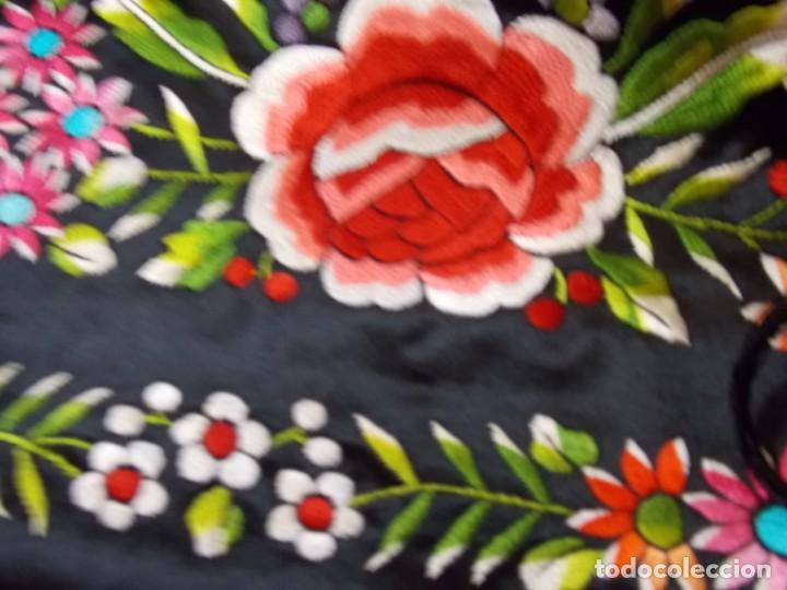 Antigüedades: manton de manila años 60/70 - Foto 6 - 195581623