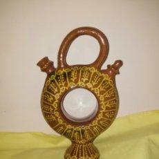 Antigüedades: BOTIJO DE - ROSCA - ALBA DE TORMES- FIRMADO DUEÑAS. ENVIO CERTIFICADO INCLUIDO.. Lote 195640845