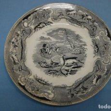 Antigüedades: PLATO EN PORCELANA CARTAGENA. Lote 195663256