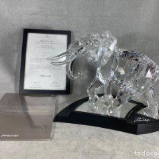 Antiguidades: SWAROVSKI SCS ELEPHANT EDICIÓN 2006 N• 6944/10.000. Lote 195695001