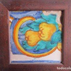 Antigüedades: AZULEJO BARROCO VALENCIANO. Lote 195703870