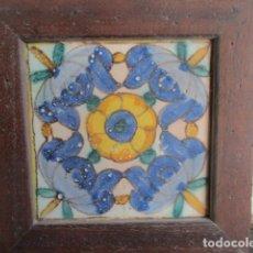 Antigüedades: AZULEJO BARROCO VALENCIANO. Lote 195704141