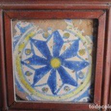 Antigüedades: AZULEJO BARROCO VALENCIANO. Lote 195704421