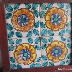 Antigüedades: AZULEJOS BARROCOS VALENCIANOS. Lote 195705010