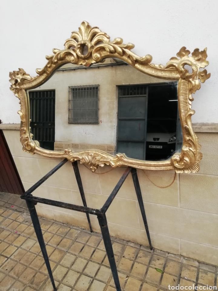 ESPEJO SIGLO XIX (Antigüedades - Muebles Antiguos - Espejos Antiguos)