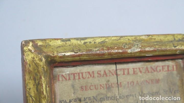 Antigüedades: ANTIGUA SACRA DE MADERA DE ROBLE. SIGLO XVII-XVIII - Foto 3 - 195776261