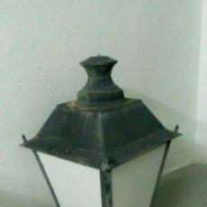 Antigüedades: ~~~~ GRAN FAROL TERRAZA - JARDIN, MIDE 70 X 40 CM.. ~~~~. Lote 195788596