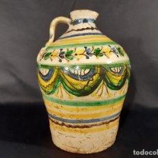 Antigüedades: ALCUZA. JARRA. PUENTE DEL ARZOBISPO. TALAVERA. SIGO XVIII - XIX.. Lote 195808790