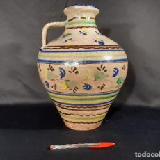 Antigüedades: ALCUZA. JARRA. CERÁMICA DE MUEL. ARAGÓN. SIGLO XIX.. Lote 195809031