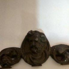 Antigüedades: BONITA PIEZA IMPERIO EN PLOMO ANTIGUO. Lote 195812356