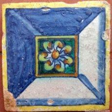 Antigüedades: AZULEJO DE TRIANA DEL SIGLO XVI.. Lote 195818857