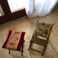 Antigüedades: SILLAS ANTIGUA DE MISA .. Lote 195866696