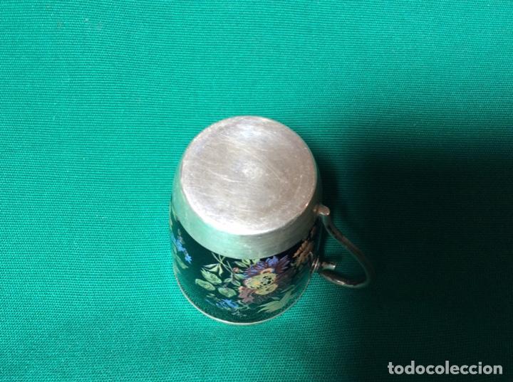 Antigüedades: Juego de café de plata y esmalte - Foto 7 - 195877791