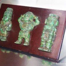 Antigüedades: FIGURAS CULTURA AZTECA. Lote 195897572