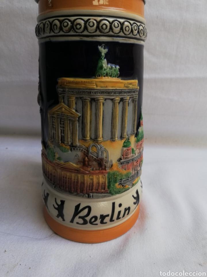 Antigüedades: JARRA CERVEZA ALEMANA EN CERAMICA. BERLIN. MARCA GERZ. - Foto 6 - 208566083