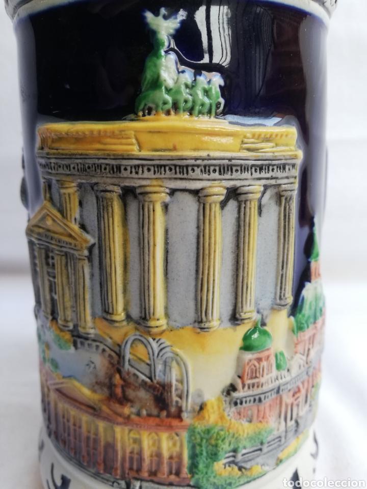 Antigüedades: JARRA CERVEZA ALEMANA EN CERAMICA. BERLIN. MARCA GERZ. - Foto 12 - 208566083