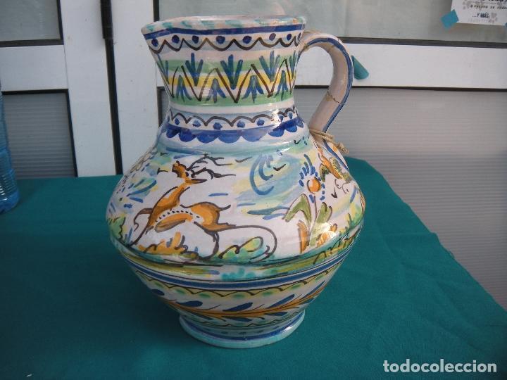 JARRA PANZONA DE TRIANA (Antigüedades - Porcelanas y Cerámicas - Triana)