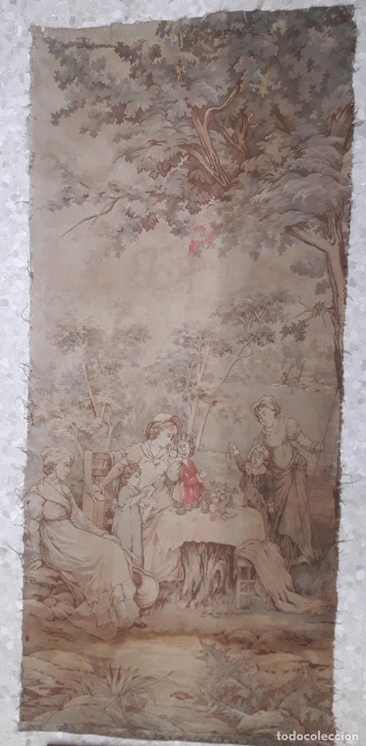ANTIGUO TAPIZ (APROX. 1M X 3M) (Antigüedades - Hogar y Decoración - Tapices Antiguos)