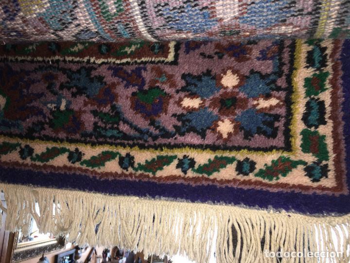 Antigüedades: Alfombra persa. Medida 285x189 cm. Sin usar. Comprada en 1989 - Foto 5 - 27260428