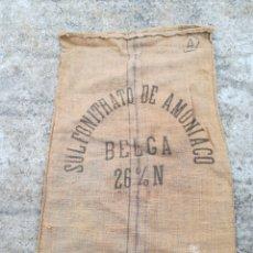 Antigüedades: SACO YUTE ARPILLERA. Lote 195967175