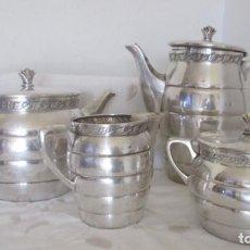Antiquités: JUEGO DE CAFÉ Y TE WMF MODERNISTA SIGLO XX ALREDEDOR DE 1930. Lote 196004672