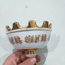 Antigüedades: JARRON PORCELANA FIORENTINI ITALY ANTIGUAS - VER LAS FOTOS. Lote 196057866