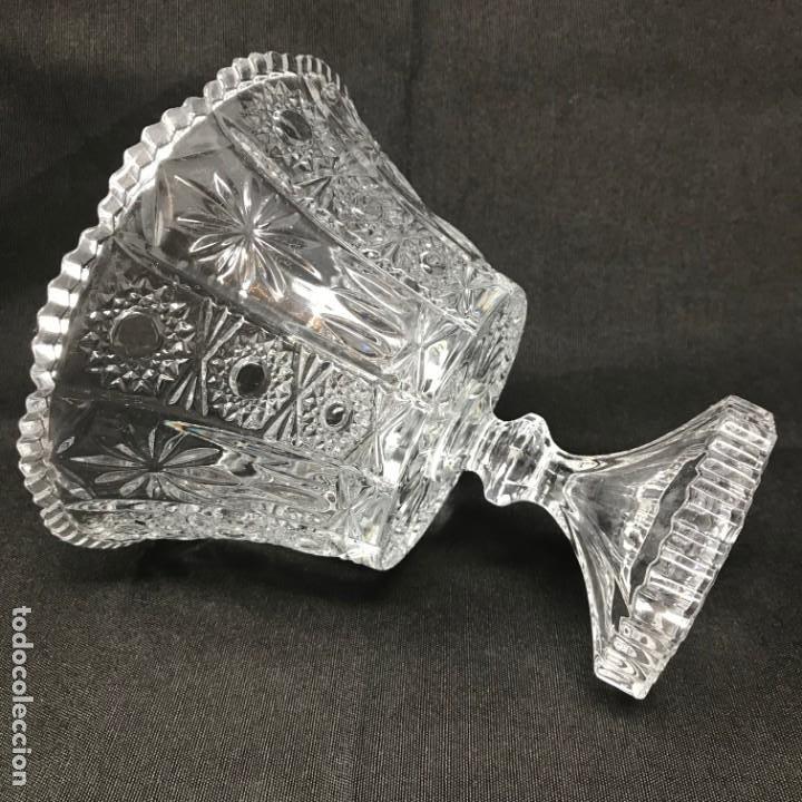 Antigüedades: Compotera Huertana-Cristal de Santa Lucía - Foto 5 - 196110456