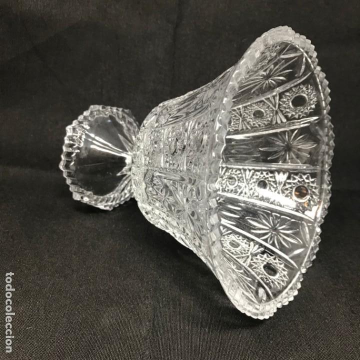 Antigüedades: Compotera Huertana-Cristal de Santa Lucía - Foto 7 - 196110456
