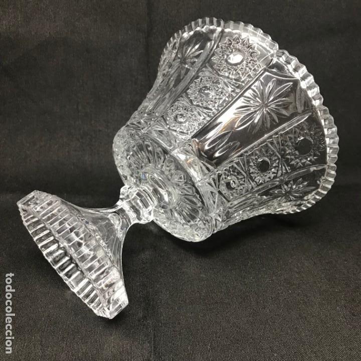 Antigüedades: Compotera Huertana-Cristal de Santa Lucía - Foto 8 - 196110456