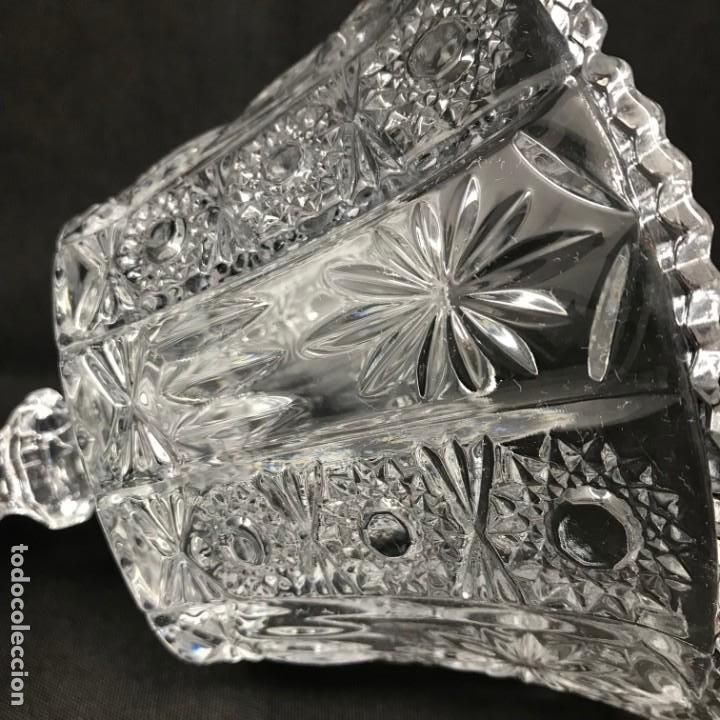 Antigüedades: Compotera Huertana-Cristal de Santa Lucía - Foto 9 - 196110456