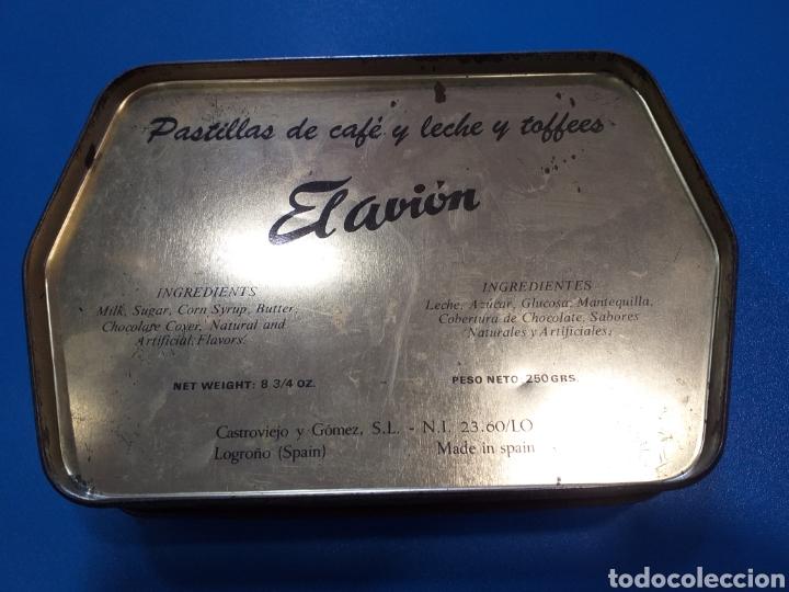 Antigüedades: Antigua caja caramelos el avion - Foto 2 - 196125111