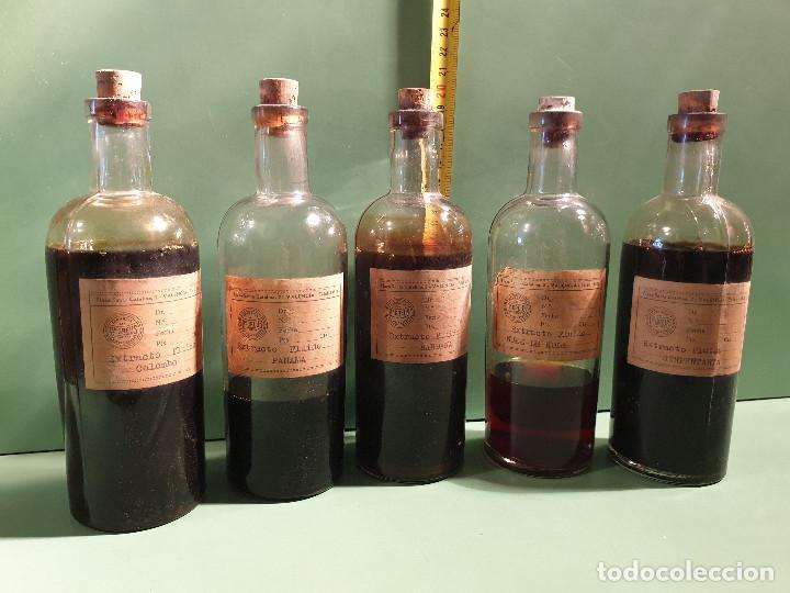 FRASCOS ANTIGUOS DE FARMACIA (Antigüedades - Cristal y Vidrio - Farmacia )
