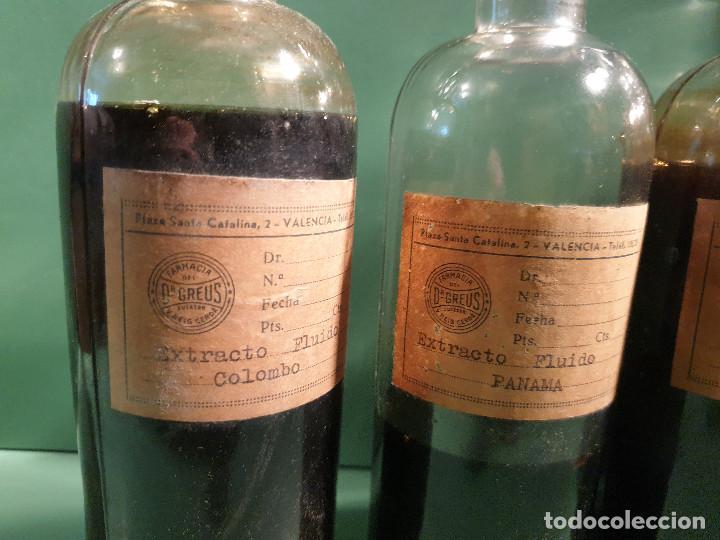 Antigüedades: FRASCOS ANTIGUOS DE FARMACIA - Foto 4 - 196189730