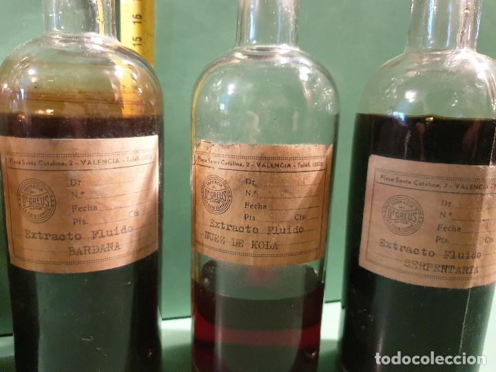 Antigüedades: FRASCOS ANTIGUOS DE FARMACIA - Foto 5 - 196189730